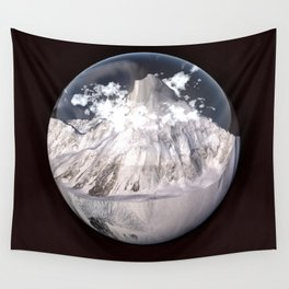 K2 Mountain Bubble Wall Tapestry
