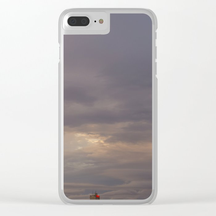 Clouds over Waco pt.4 Clear iPhone Case