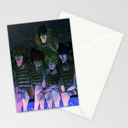 FREE! IWATOBI SWIM CLUB again Stationery Cards