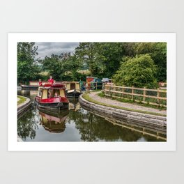 A Day Cruising Art Print
