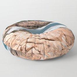 Acadia National Park - Thunder Hole Floor Pillow