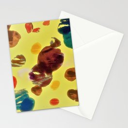 multicolour art Stationery Cards