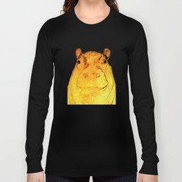 Golden Hippo Long Sleeve T-shirt