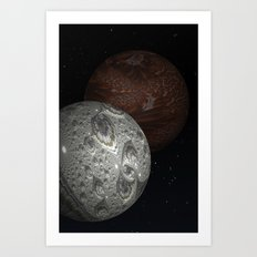 The Mars Hoax Art Print