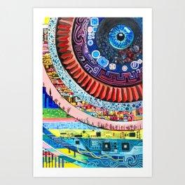 Systems Art Print