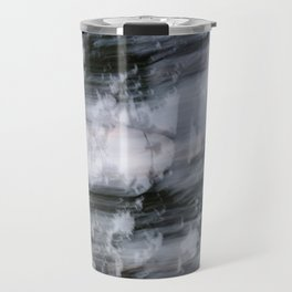 Abstract trees photography slow shutter Travel Mug
