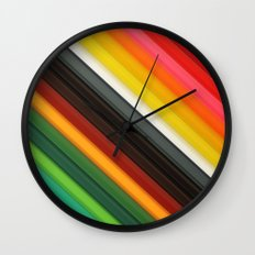 Little Rainbow Wall Clock