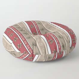 Creative striped pattern . Floor Pillow