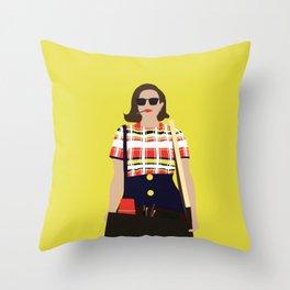 Peggy Olson Mad Men Throw Pillow