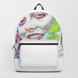 Alicia Silverstone (Creative Illustration Art) Backpack