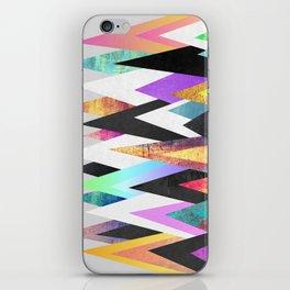 Colorful Peaks iPhone Skin