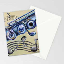 Flute Blues Stationery Cards