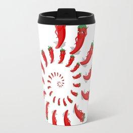 Red Pepper Diva Spiral Travel Mug