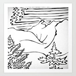 Timberline Art Print