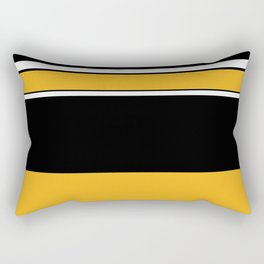 Abstractedly Daffy Rectangular Pillow
