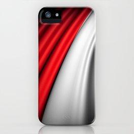 flag of Poland iPhone Case