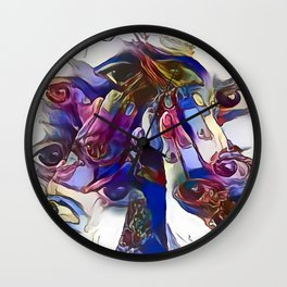 Lucid I Wall Clock