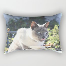 Tea and Crumpets Rectangular Pillow