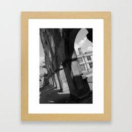 Archways at Kirby Hall Framed Art Print
