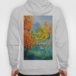 He Makes the Winds His Messengers Hoody