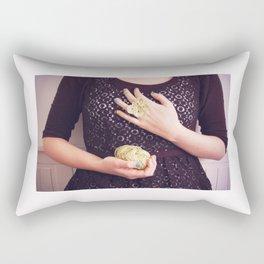 A butterfly ring Rectangular Pillow