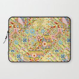 Sunshine Crazy Quilt (printed) Laptop Sleeve