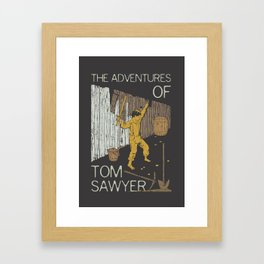 Books Collection: Tom Sawyer Framed Art Print
