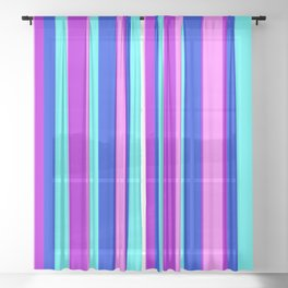 Stripes Sheer Curtain