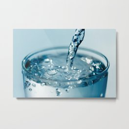 Pure Water Metal Print