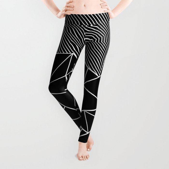 Ab Lines 45 Black Leggings