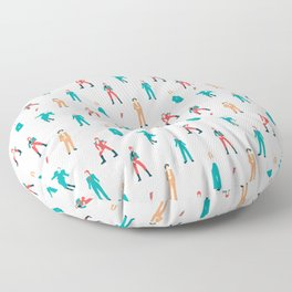 The Land of Bowie Floor Pillow