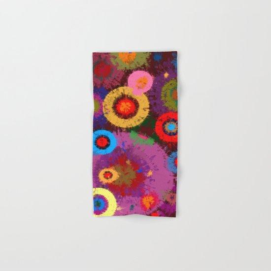 Abstract #360 Splirkles #2 Hand & Bath Towel
