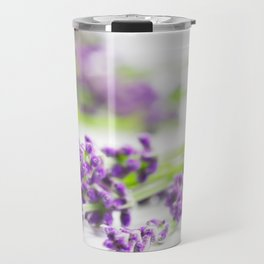 Lavender herb still life Travel Mug