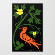 Pugin's Birds Canvas Print