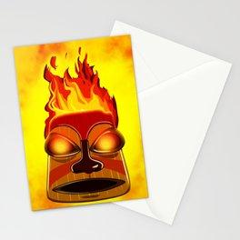 Tiki God Stationery Cards