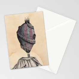 Really hot air balloon Stationery Cards