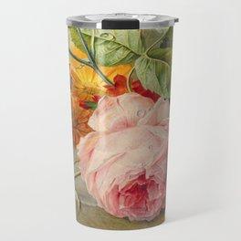 "George Jacobus Johannes van Os ""Floral Still Life"" Travel Mug"