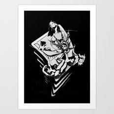 The Queen of Spades Art Print