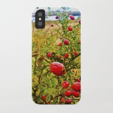 Nature red and green. iPhone X Slim Case