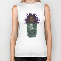 cyrilliart Biker Tanks featuring Rue's Lullaby by Cyrilliart