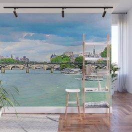 Bridges of The Seine Wall Mural