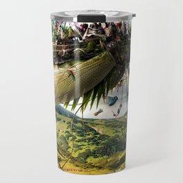 Fleeing Creativity (surreal) Travel Mug