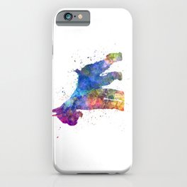 Giant Schnauzer 01in watercolor iPhone Case
