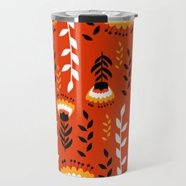 Bright floral decor Travel Mug