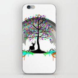Colorless Raimbow iPhone Skin