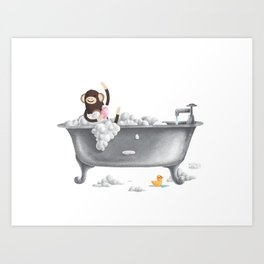 A Bubbly One Art Print