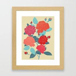 Rose Garden - Light Framed Art Print
