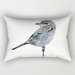 Northern Shrike by Teresa Thompson Rectangular Pillow