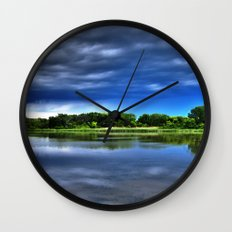 Rock Cut State Park - HDR Wall Clock