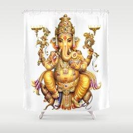 Ganesha - Hindu Shower Curtain